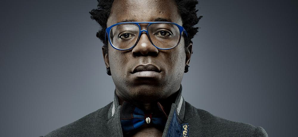 Blick Bassy, musicien et écrivain