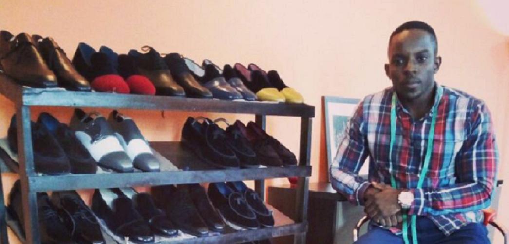 Vidal Kenmoe, créateur de la marque de chaussures Shoes by Vidal